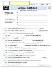 FREE Differentiated Worksheet for the Bill Nye - The Science